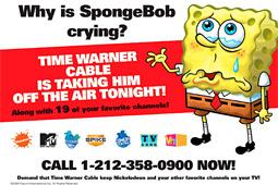 Spongebob Viacom Time Warner