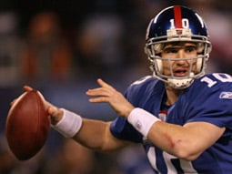 The Giants' Eli Manning is a comeback kid.