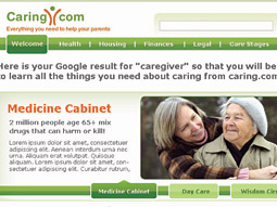 Caring.com has enlisted a team of writers and journalists to provide content.