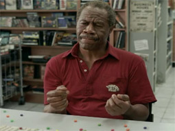 Skittles' 'Touch' commercial