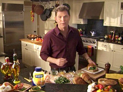 HELLMAN'S: A tie-in with CBS's 'The New Adventures of Old Christine' put the mayo in the hands of the character played by Julia-Louis Dreyfus, and then went immediately to an ad with celebrity chef Bobby Flay.