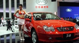 New car models weren't the only thing on display at the 2010 Beijing International Automotive Exhibition.