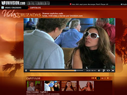 'VIDAS CRUZADAS': Web-only novela integrates L'Oreal products.