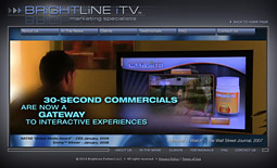 Companies such as BrightLine iTV formed to bring the interactivity of the web to TV.