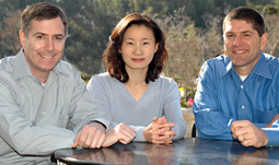 FreeWheel founders and CEOs Jon Heller, Diane Yucto and Doug Knopper