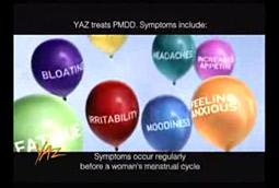 Yaz: FDA said ads were unclear.