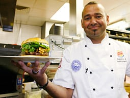 The $190 Burger from Burger King is available only on Thursdays at a single location in West London.