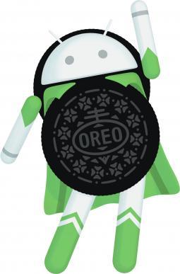Android Oreo superhero character