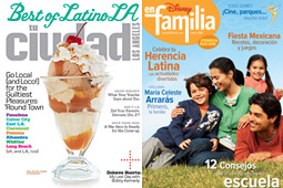 Uncovered: July saw the final issue of Tu Ciudad and the first of Disney en Familia.
