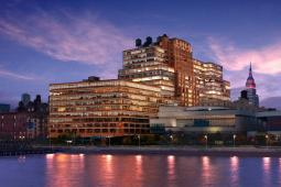 The Starrett-Lehigh building on Manhattan's west side, where Martha Stewart Living Omnimedia is headquartered.