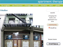 Apartment Therapy is now part of Martha Stewart's ad-sales network.