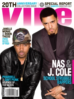 One of three covers for Vibe's new print edition, which once seemed like it wouldn't continue