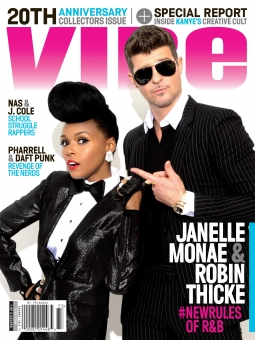 Another of the new Vibe's three covers