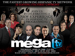 Florida-based newcomer MegaTV is aiming to go national.