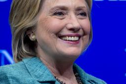 Hillary Clinton at the Brookings Institution in Washington, D.C.
