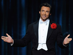 Hugh Jackman: The host sang and danced for 36.3 million TV viewers.