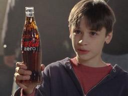 Mean Troy Polamalu: Coca-Cola updates its classic 1980 ad for Coke Zero.