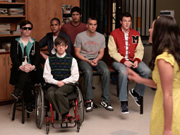 'GLEE': Fox show is luring young viewers.