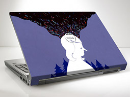 DELL DESIGN STUDIO: Mother, New York, brings up and coming artists (and its own designers) to Dell laptops.