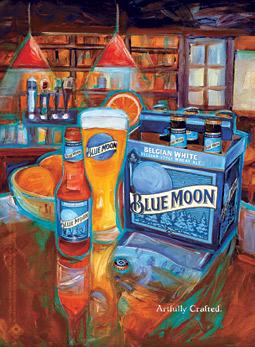 Blue Moon ad