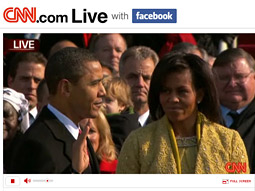 CNN Covers 2009 Inauguration