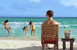 BEACHED: Fewer seaside scenes in ads.
