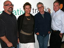 Traffic execs: (From l.) Mike Tankel, Heidi Roberts, Tom Cordner and John Powers.