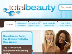 A look at what visitors may see this fall at TotalBeauty.com.
