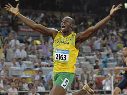 Usain Bolt: He and others have won NBC a TV audience of 207 million so far and drawn nearly 42 million unique visitors to its Olympic site.