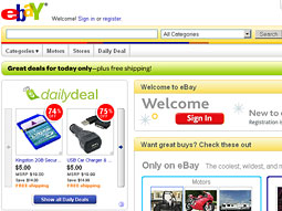 EVOLVING EBAY: Auction site improving search, increasing fixed prices and more.