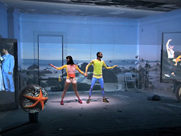 PUMA LIFT: For Droga5's debut Puma spot, MJZ projected virtual clothing in camera onto two dancers' bodies.