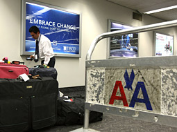 Flying solo: So far, American Airlines is the only carrier levying a fee for a single bag.