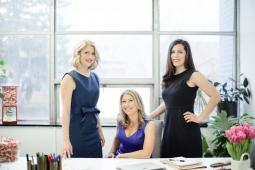 (From l.): Liz Dee, Sarah Dee and Jessica Dee Sawyer are the new presidents of Smarties Candy Co.