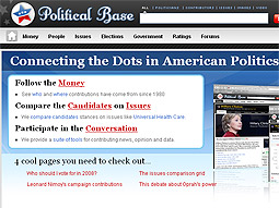 PoliticalBase.com is a forum for discussion around candidates and issues.
