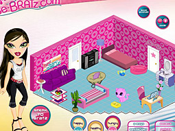 Bratz's latest line of dolls is sold with a flash drive that hooks users up to a website similar to Second Life.