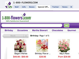 A FIRST: Alvenda and 1-800-Flowers launched a store on a Facebook brand page.