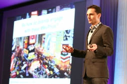 Tobias Peggs, CEO of Aviary, discusses social mobile brand engagement at the Ad Age Digital Conference.