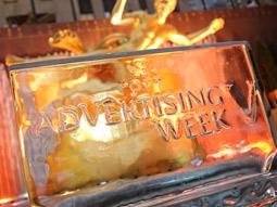 Ice breaker: Advertising Week's opening gala drew standing-room crowds.