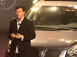 Pontiac marketing director Craig Bierley