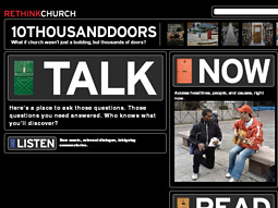 METHODISTS BECOME MARKETERS: UMC's website targets young demographic.