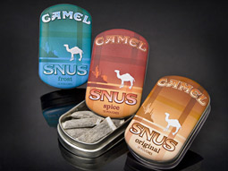 Snus release: Reynolds recently expanded its test of three Camel Snus.