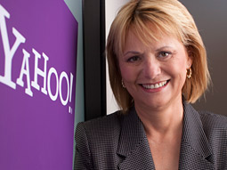 Yahoo's new CEO, Carol Bartz