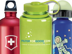 Bottle rockets: Sigg and Brita are looking to cash in on the backlash against bottled water.