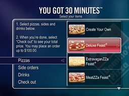 TiVo: Place your order via TV.