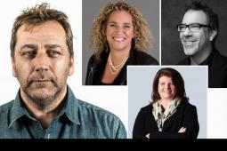 4A's panelists Carl Johnson, Elizabeth Ross, Tamara Ingram, Barry Wacksman