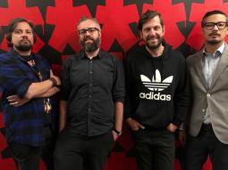 L to R: Wilson Mateos, Marcelo Padoca, Fernando Reis, Raul Garcia
