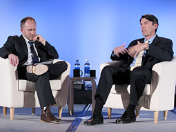 Ad Age Editor Jonah Bloom interviews Tim Armstrong.