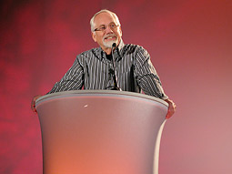 Wieden & Kennedy co-founder Dan Wieden at the 4A's Leadership Conference.