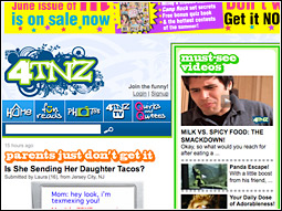 The humor website is intended to be a destination for both consumers and advertisers.