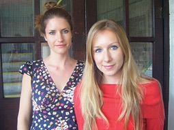 Nathalie Turton (l.) and Lorelei Mathias, Glue, London